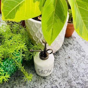 Rae Dunn GROW plant mister NWT